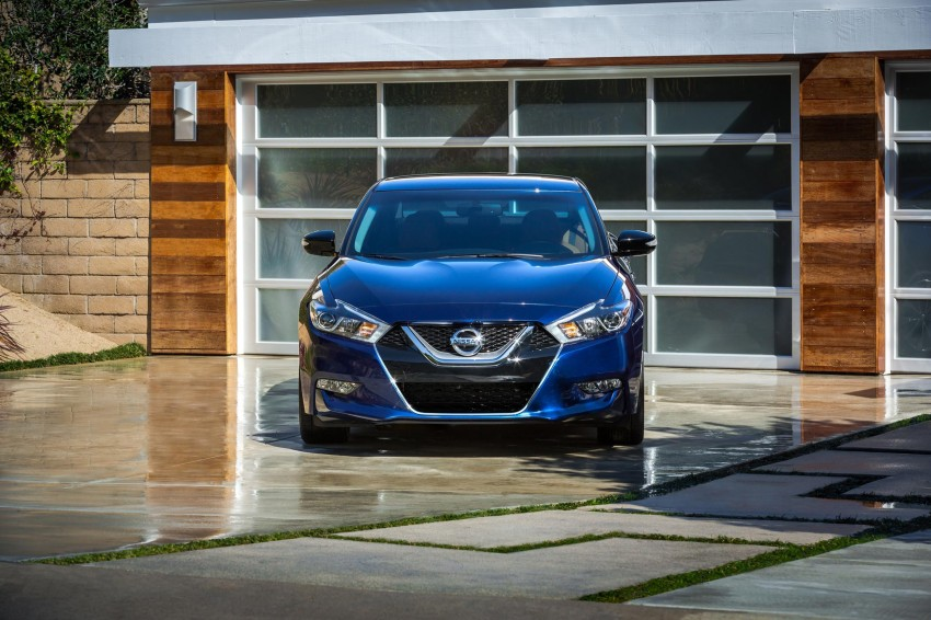 2016 Nissan Maxima debuts in New York with 300 hp Image #324919