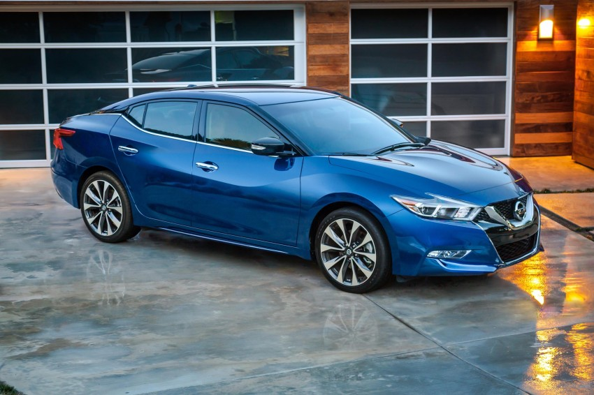 2016 Nissan Maxima debuts in New York with 300 hp Image #324887