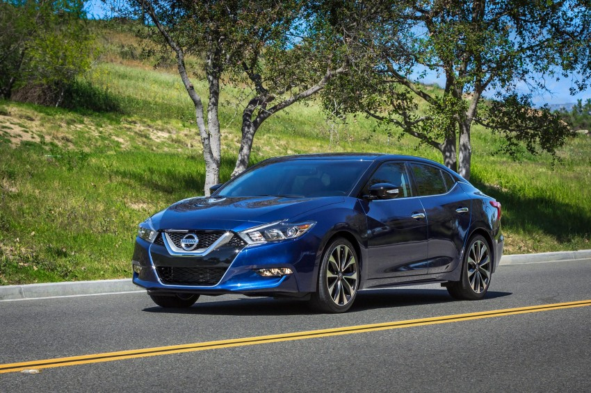 2016 Nissan Maxima debuts in New York with 300 hp Image #324890