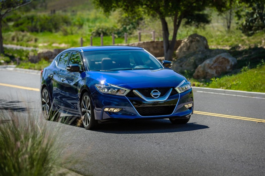 2016 Nissan Maxima debuts in New York with 300 hp Image #324905