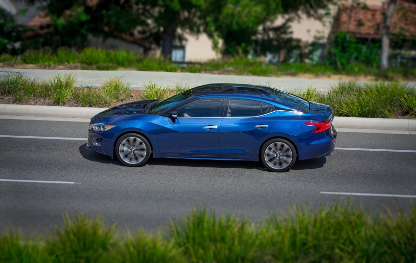 2016 Nissan Maxima debuts in New York with 300 hp Image #324881