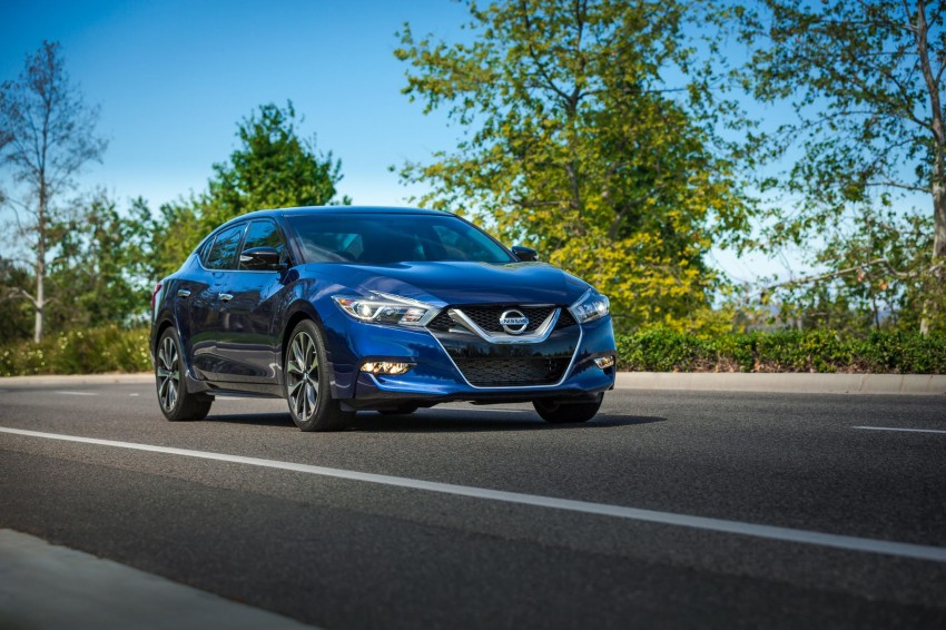 2016 Nissan Maxima debuts in New York with 300 hp Image #324925