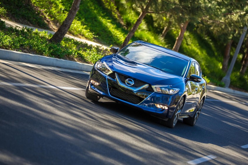 2016 Nissan Maxima debuts in New York with 300 hp Image #324928