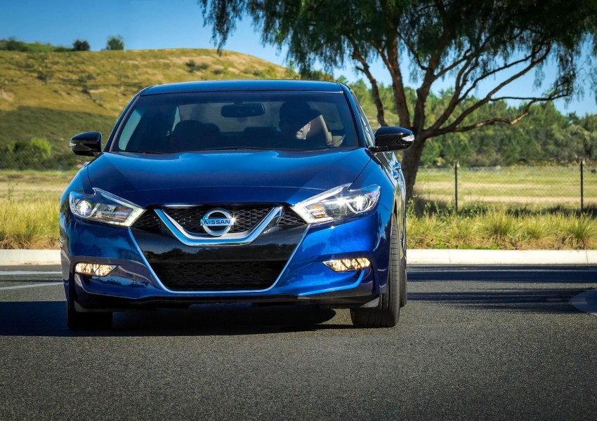2016 Nissan Maxima debuts in New York with 300 hp Image #324929