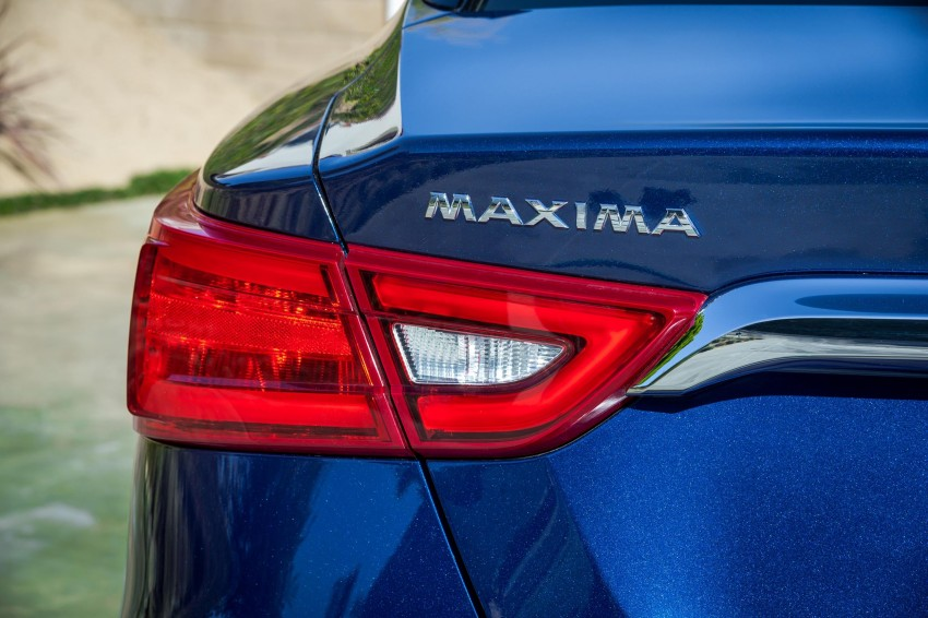 2016 Nissan Maxima debuts in New York with 300 hp Image #324906