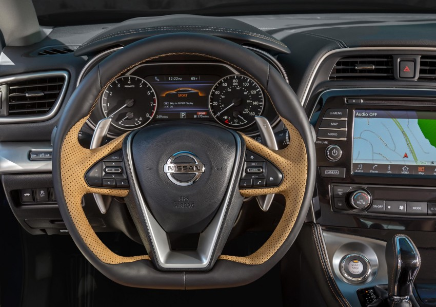 2016 Nissan Maxima debuts in New York with 300 hp Image #324933