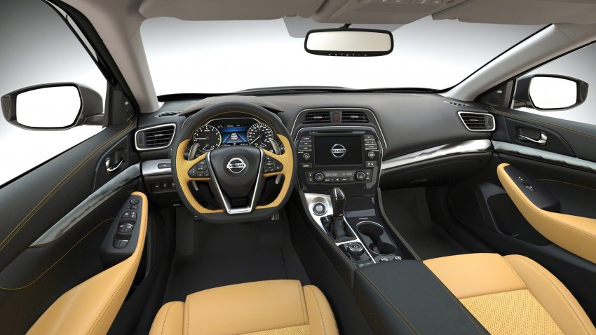 2016 Nissan Maxima debuts in New York with 300 hp Image #324937