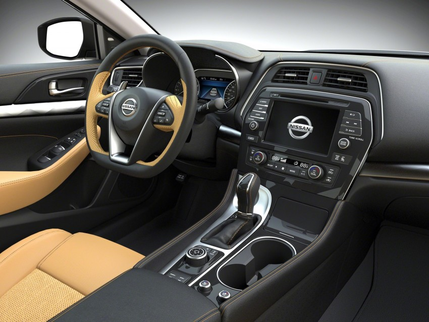 2016 Nissan Maxima debuts in New York with 300 hp Image #324895