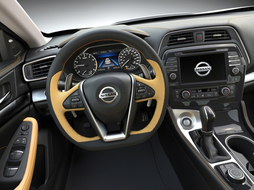 2016 Nissan Maxima debuts in New York with 300 hp Image #324938