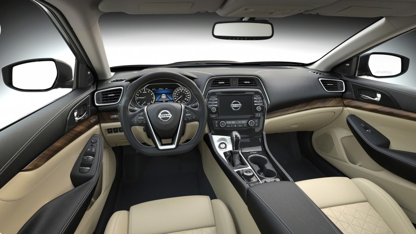 2016 Nissan Maxima debuts in New York with 300 hp Image #324931