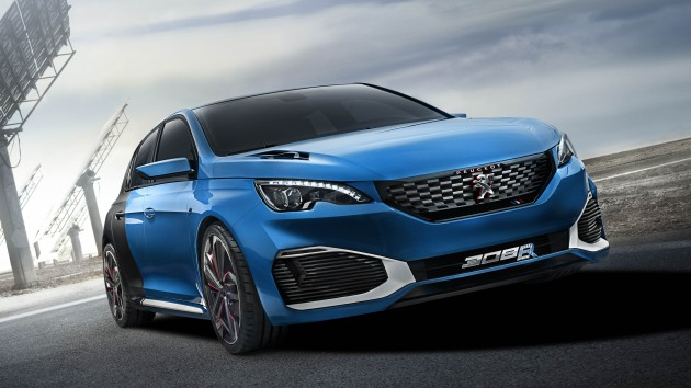 Peugeot 308 R Hybrid To Wow Shanghai With 500 Hp