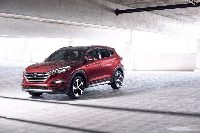 Third-generation Hyundai Tucson makes US debut Image #324382