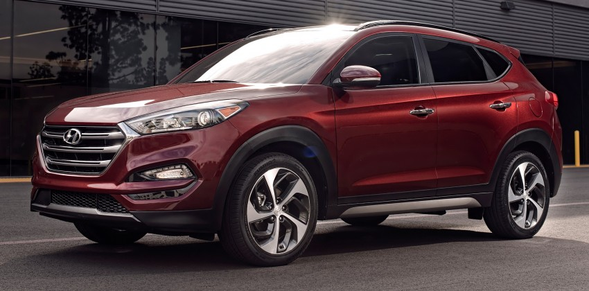 Third-generation Hyundai Tucson makes US debut Image #324383