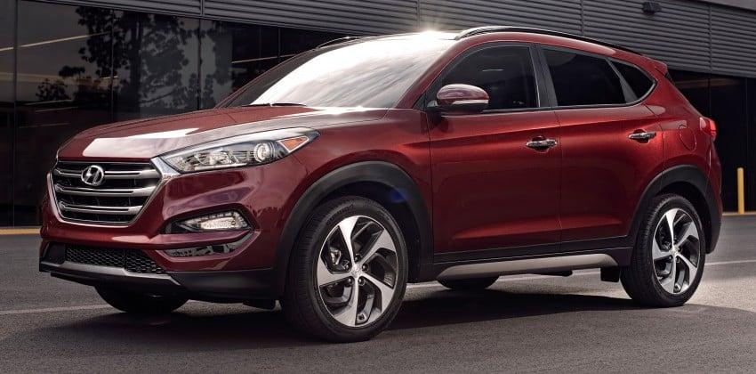 Third-generation Hyundai Tucson makes US debut Image #324383