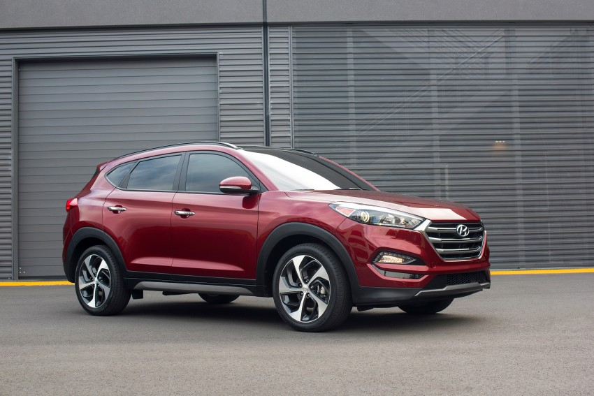 Third-generation Hyundai Tucson makes US debut Image #324385