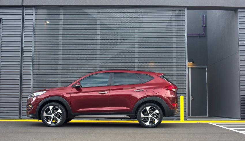 Third-generation Hyundai Tucson makes US debut Image #324389
