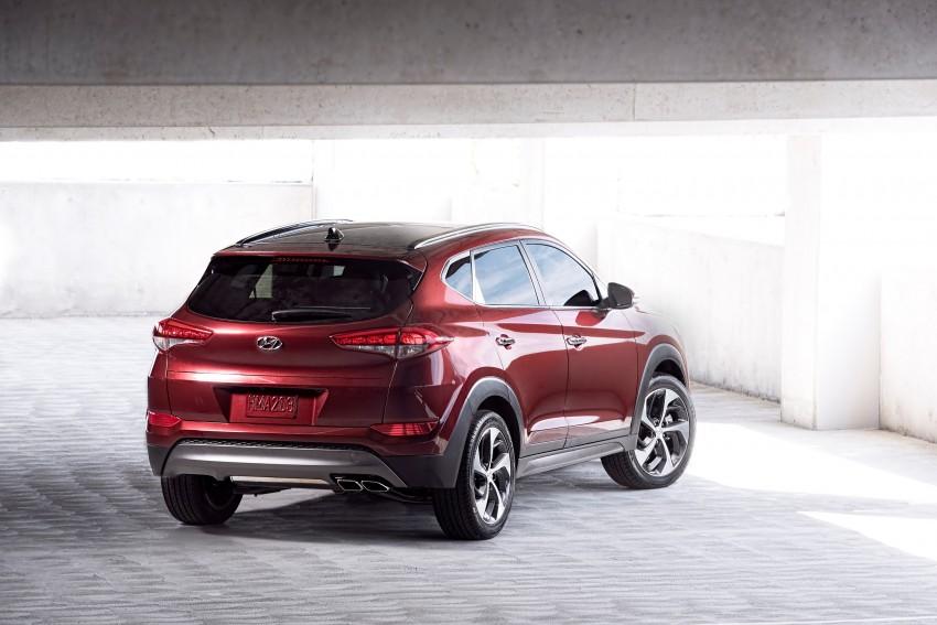 Third-generation Hyundai Tucson makes US debut Image #324390