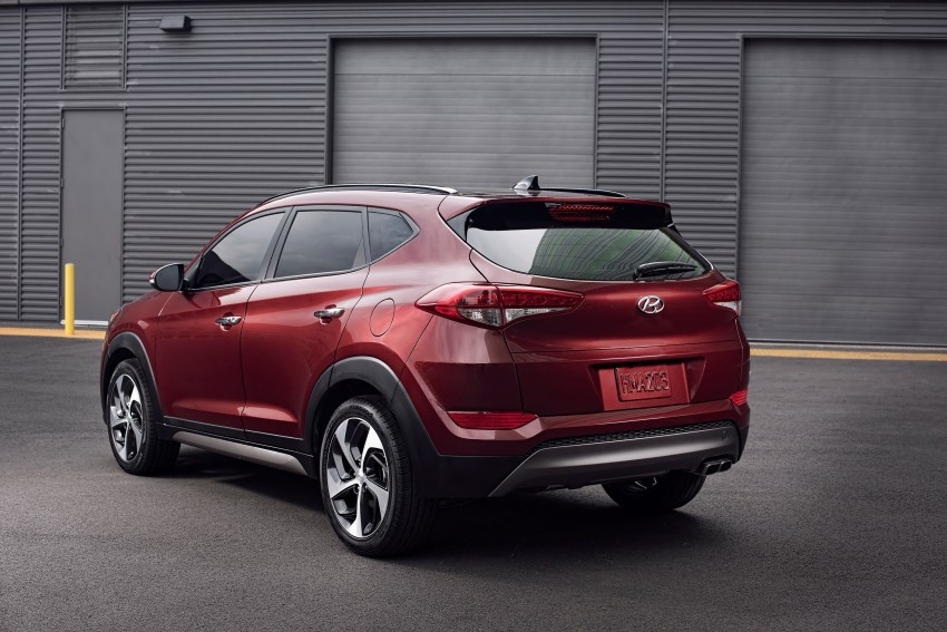 Third-generation Hyundai Tucson makes US debut Image #324391