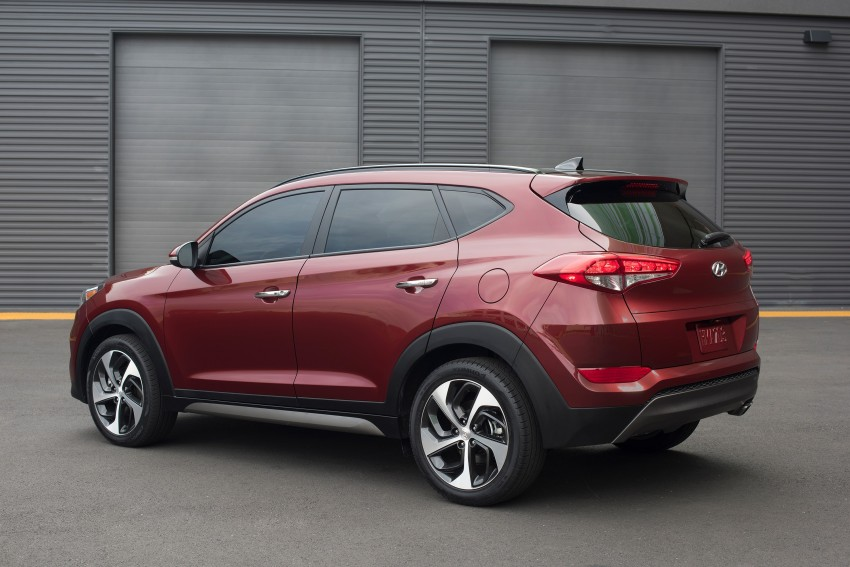Third-generation Hyundai Tucson makes US debut Image #324392