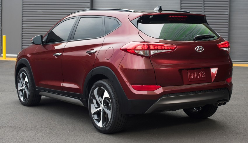 Third-generation Hyundai Tucson makes US debut Image #324393