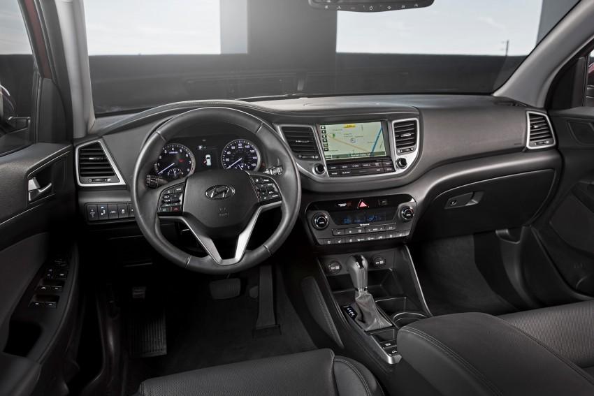 Third-generation Hyundai Tucson makes US debut Image #324395