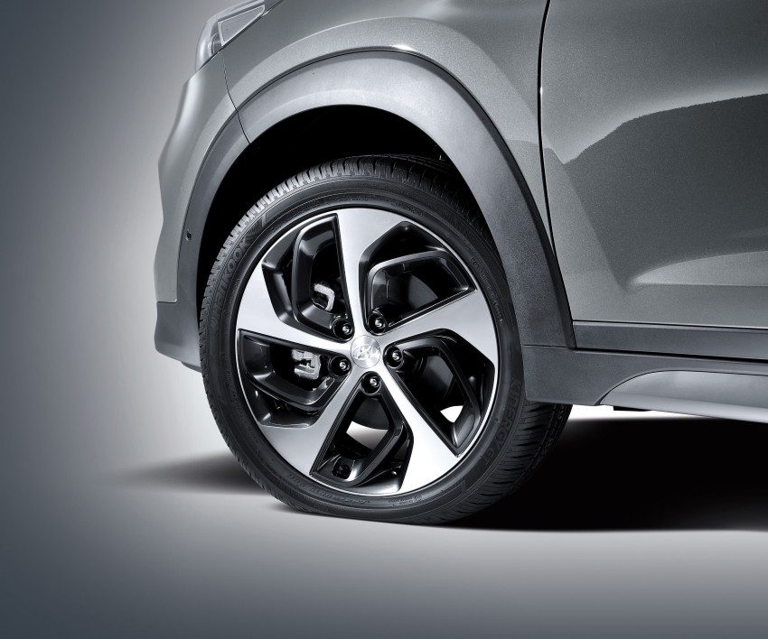 Third-generation Hyundai Tucson makes US debut Image #324356