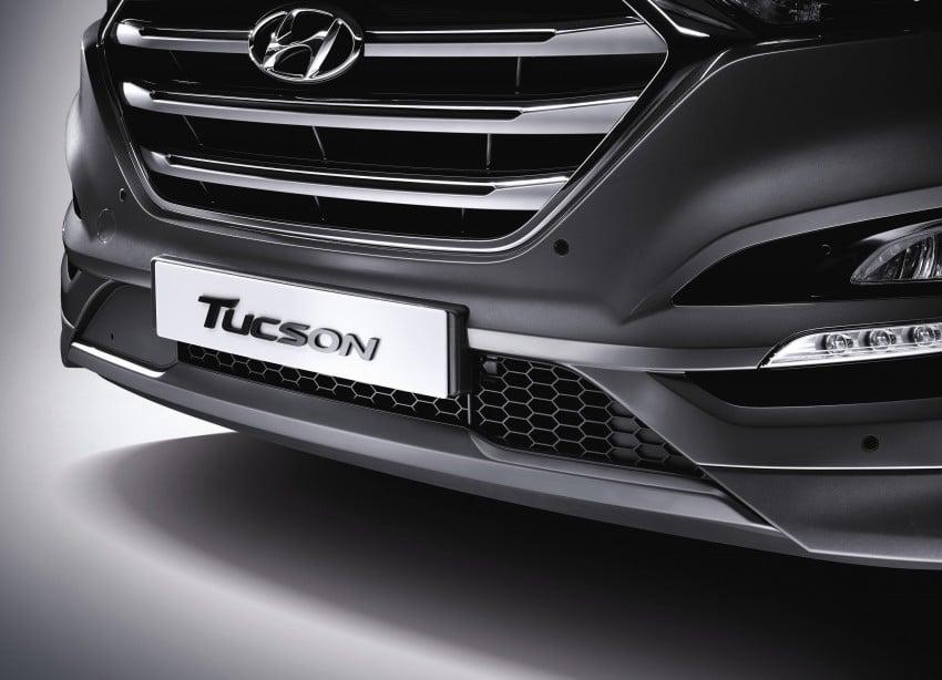 Third-generation Hyundai Tucson makes US debut Image #324355