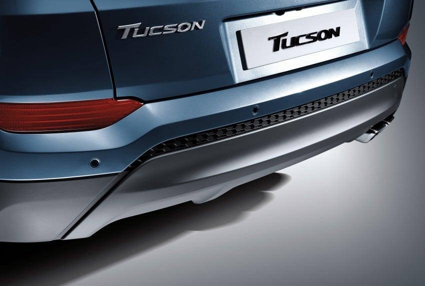 Third-generation Hyundai Tucson makes US debut Image #324362