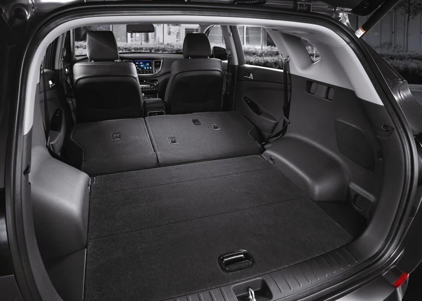 Third-generation Hyundai Tucson makes US debut Image #324372