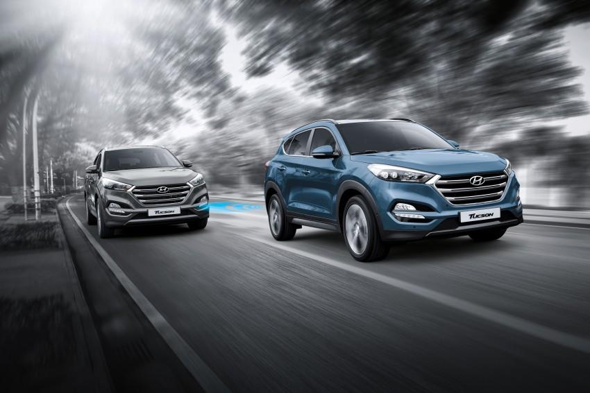 Third-generation Hyundai Tucson makes US debut Image #324378