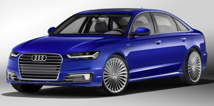 Audi A6 L e-tron plug-in hybrid revealed for China Paul ...