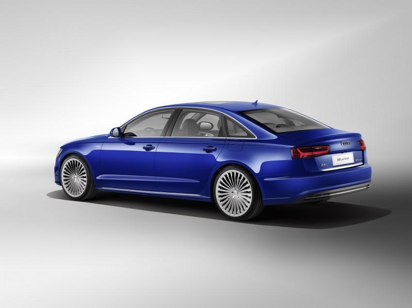 Audi A6 L e-tron plug-in hybrid revealed for China Image #329261