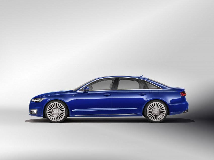 Audi A6 L e-tron plug-in hybrid revealed for China Image #329260