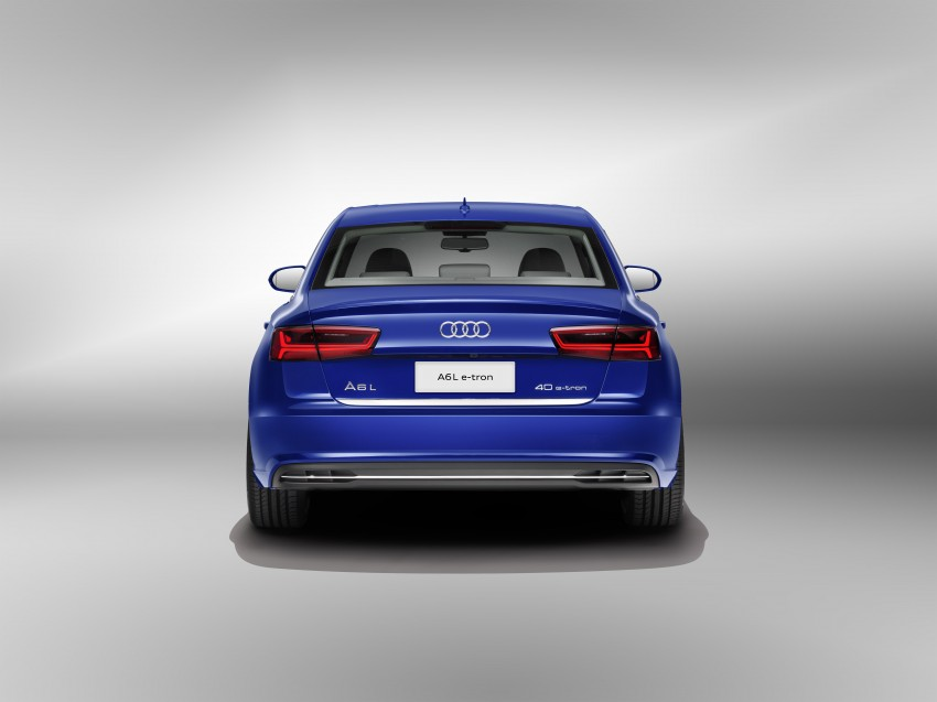 Audi A6 L e-tron plug-in hybrid revealed for China Image #329258