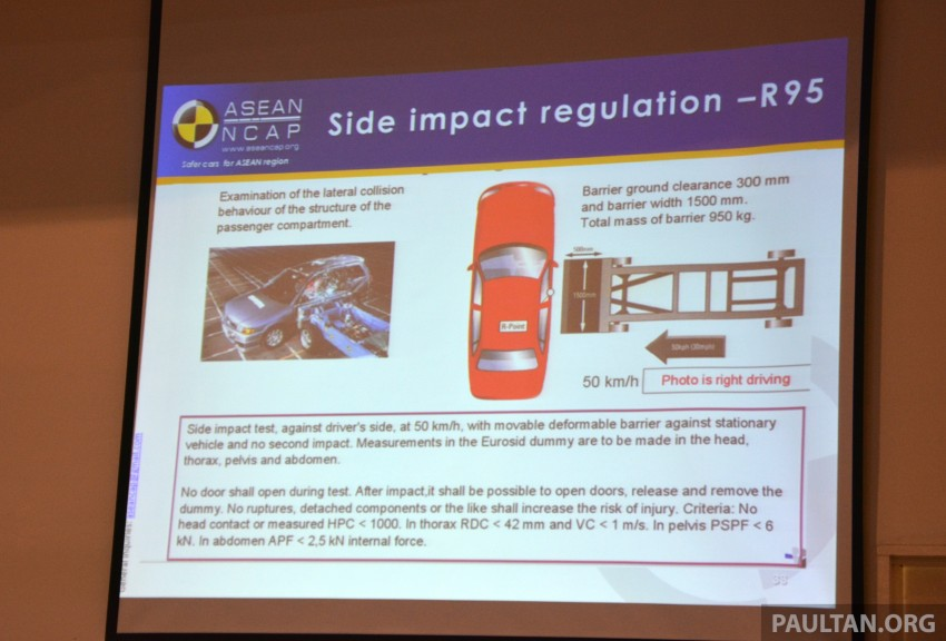 ASEAN NCAP updates – new testing protocols by 2020 Image #331541