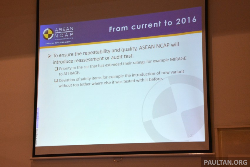 ASEAN NCAP updates – new testing protocols by 2020 Image #331533