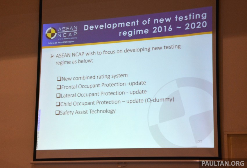 ASEAN NCAP updates – new testing protocols by 2020 Image #331534