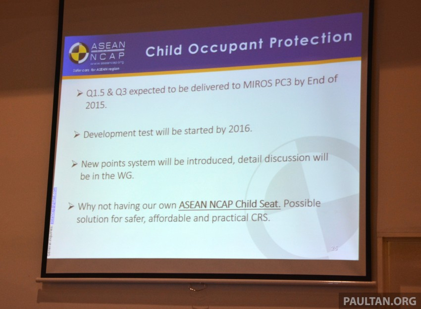 ASEAN NCAP updates – new testing protocols by 2020 Image #331536