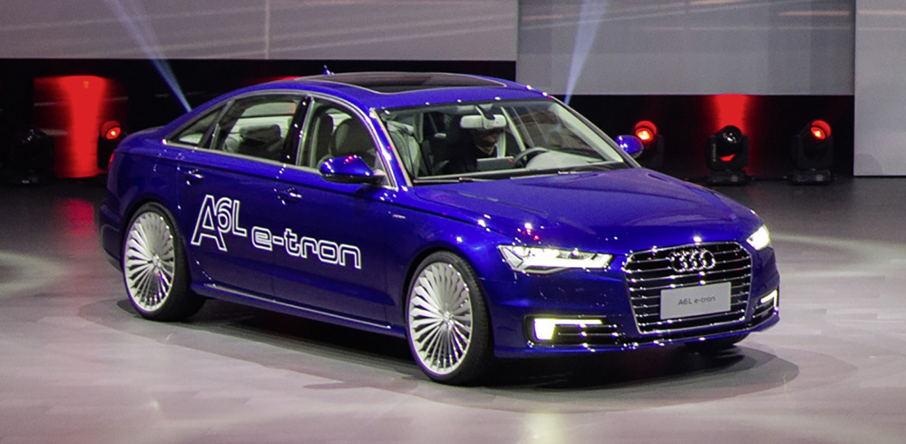 Audi A6 L E Tron Plug In Hybrid Revealed For China Image