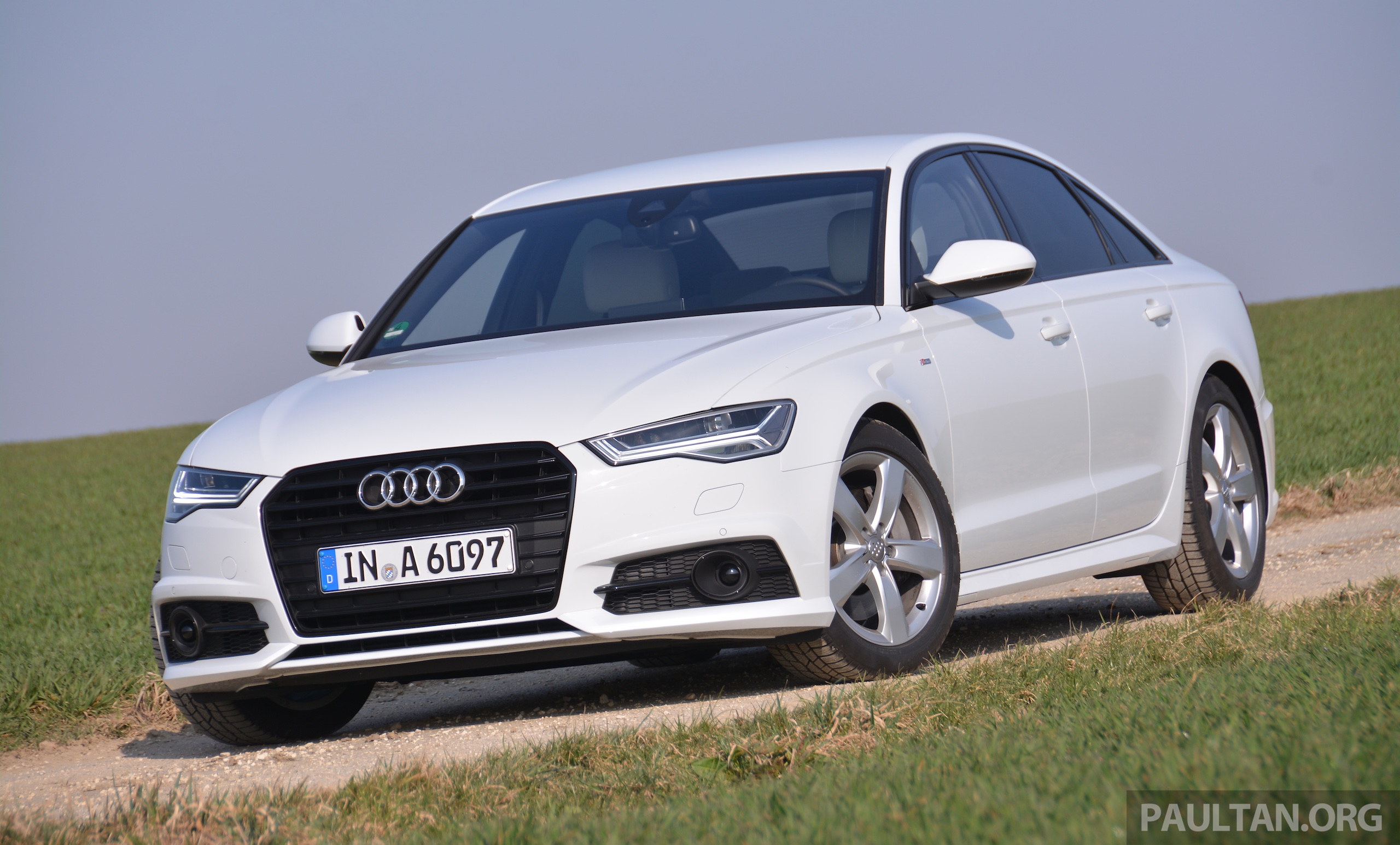 audi a6 facelift on malaysian website launch soon. Black Bedroom Furniture Sets. Home Design Ideas