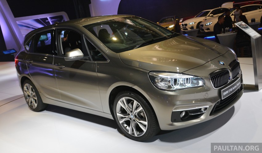 F45 BMW 218i Active Tourer introduced – from RM219k Image #328615