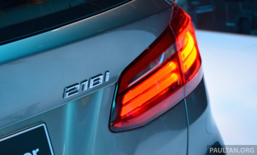 F45 BMW 218i Active Tourer introduced – from RM219k Image #328644