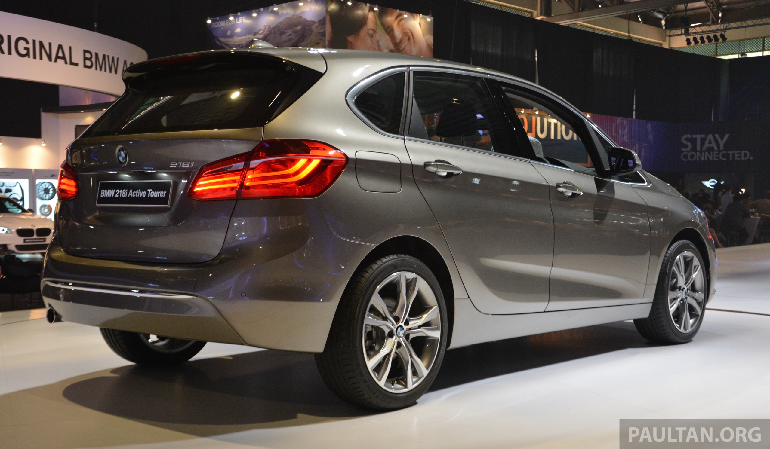 f45 bmw 218i active tourer introduced from rm219k image 328617. Black Bedroom Furniture Sets. Home Design Ideas