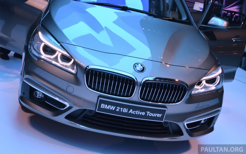 F45 BMW 218i Active Tourer introduced – from RM219k Image #328645