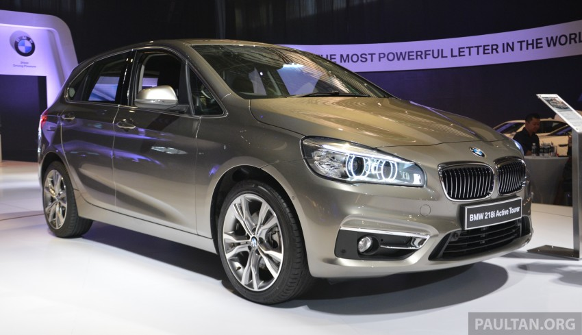 F45 BMW 218i Active Tourer introduced – from RM219k Image #328619