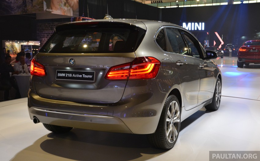 F45 BMW 218i Active Tourer introduced – from RM219k Image #328620