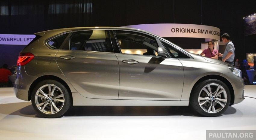 F45 BMW 218i Active Tourer introduced – from RM219k Image #328621