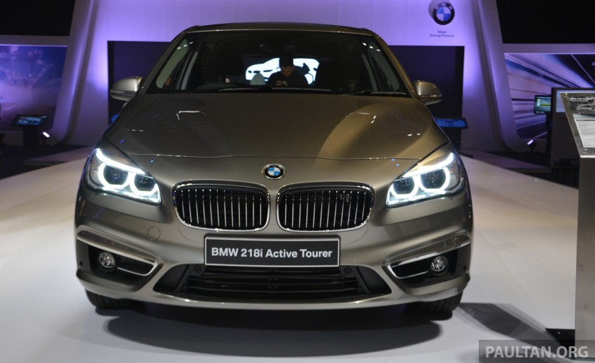 F45 BMW 218i Active Tourer introduced – from RM219k Image #328622