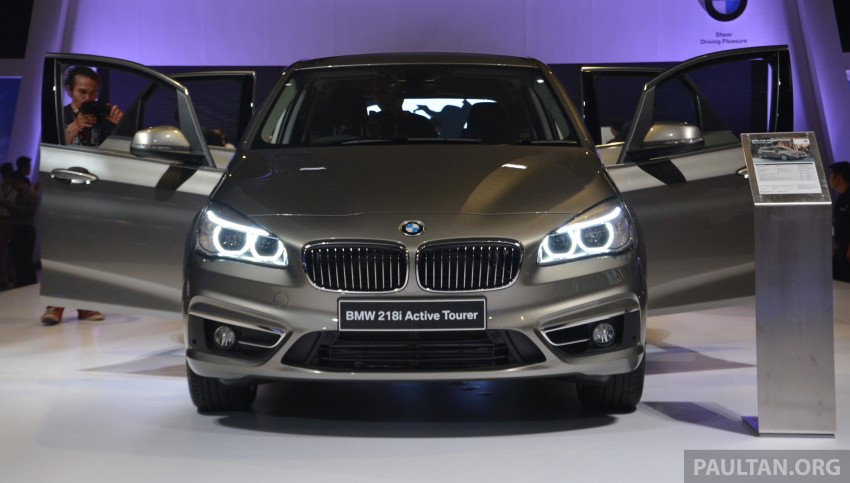 F45 BMW 218i Active Tourer introduced – from RM219k Image #328624