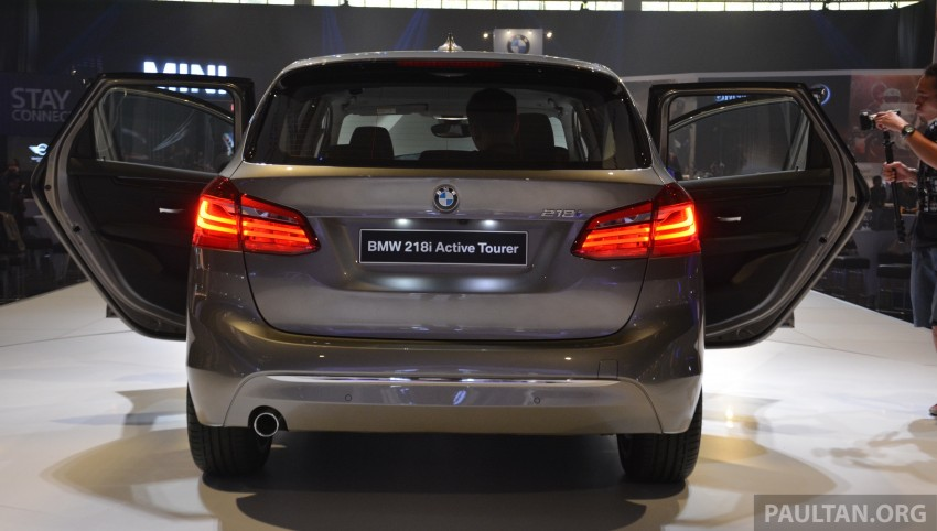F45 BMW 218i Active Tourer introduced – from RM219k Image #328625